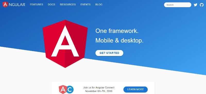 Web Development Frameworks Angular