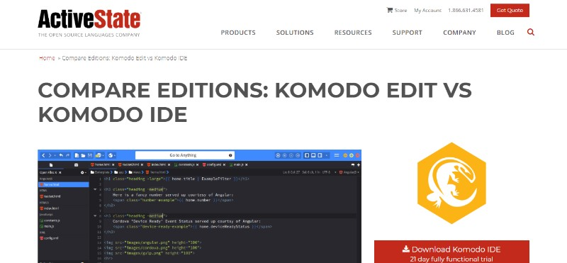 Komodo Edit IDE