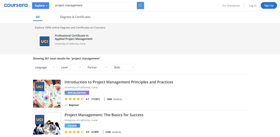 The best project management courses to take (Free & Paid) | TMS