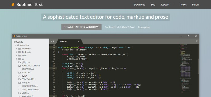 SUBLIME TEXT 3 IDE