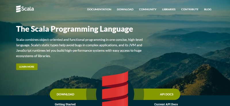 web development technologies programming languages Scala