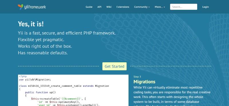 Web Development Frameworks Yii