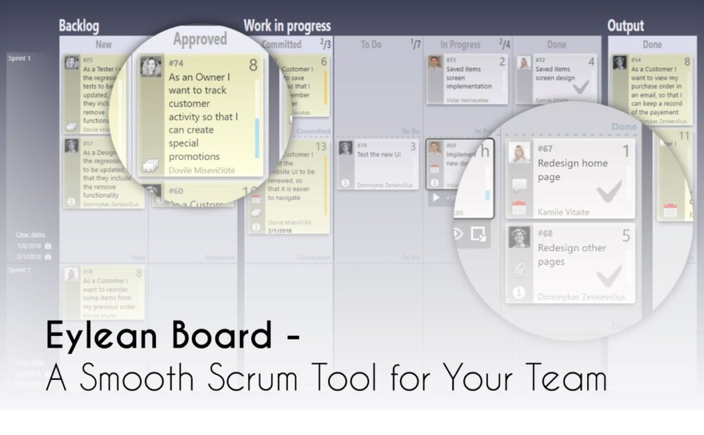best tools for creating scrum boards online - Eylean