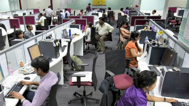 Larger Labor Pool - outsourcing to India