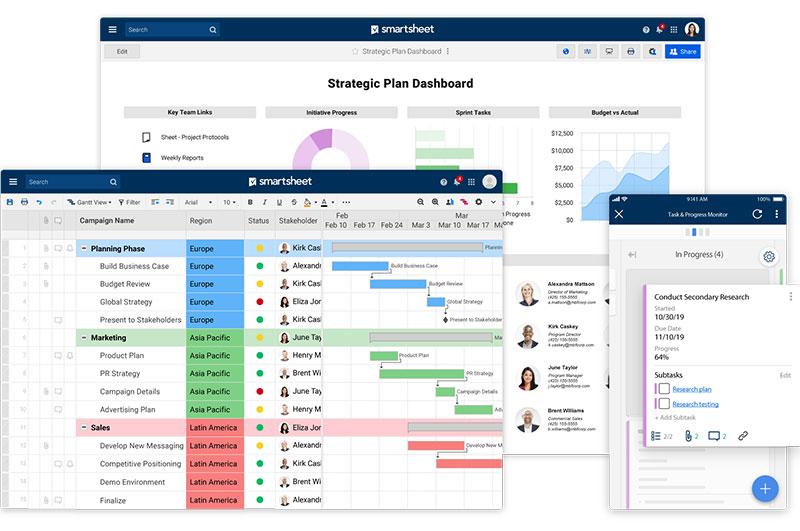 Smartsheet - More than a Kanban App.