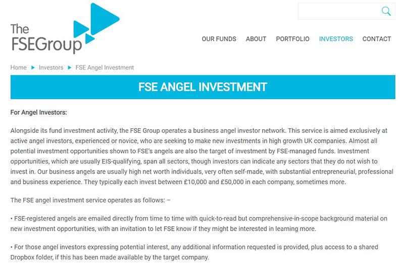 FSE Angel Investment