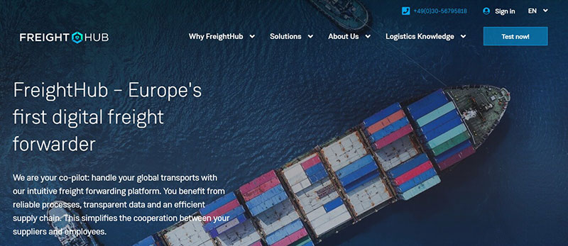 FreightHub - from a Berlin startup to the entire world