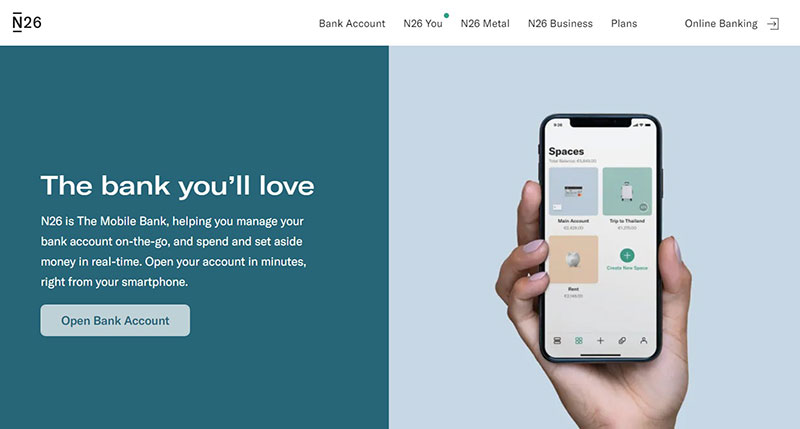 N26 – another type of banking from the Berlin startups