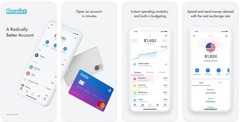 Revolut – the best fintech app for international transactions