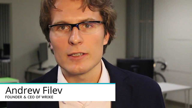Startup advice - Andrew Filev, founder and CEO @Wrike