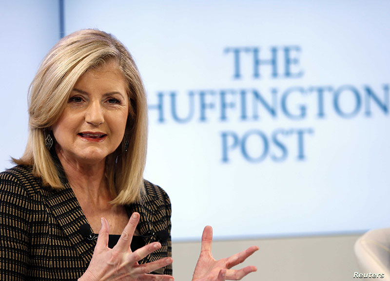 Startup advice - Arianna Huffington President and Editor in Chief of The Huffington Post Media Group