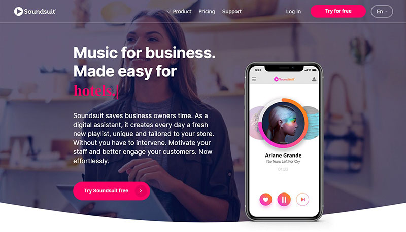 Soundsuit - Saas startups