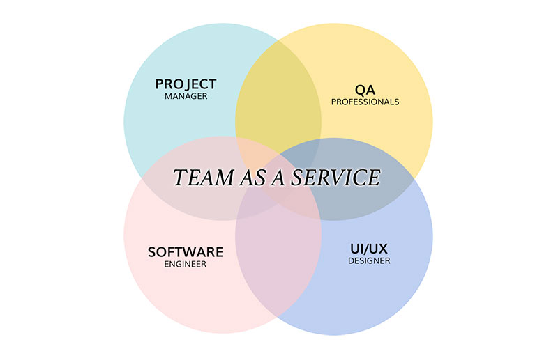 What Team As A Service includes and what it provides to your Business?