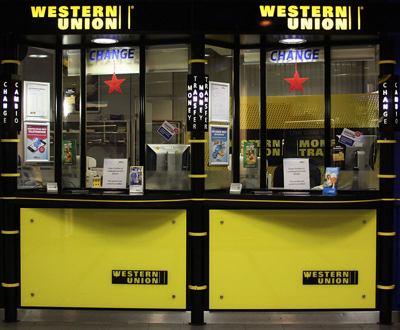 Business Pivot Examples - Western Union
